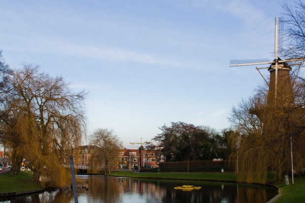 Windmill in Leiden.