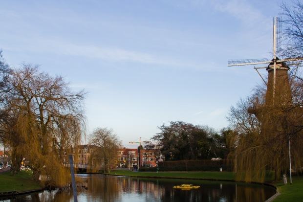 Windmill in Leiden.
