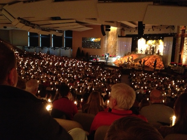 Christmas Eve at Hope.