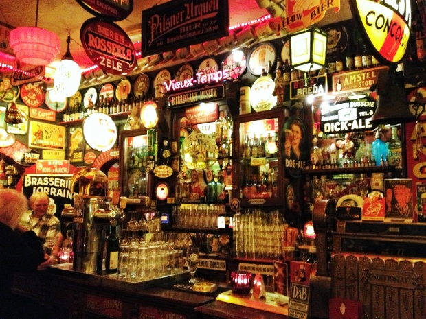 The actual bar.