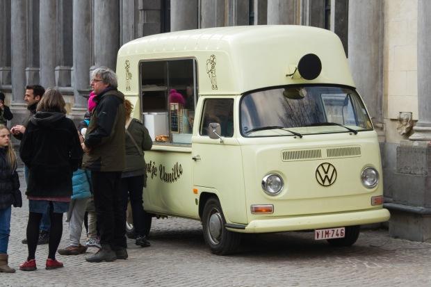 Volkswagen Waffle Stand!