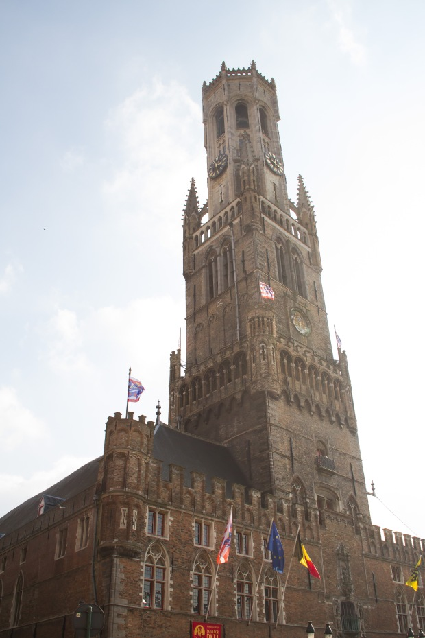 The Belfry - You could climb the 33 floors to the top of the tower - we opted for not.