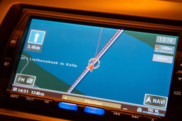 Just to prove that we were going under water - here is our GPS screen.
