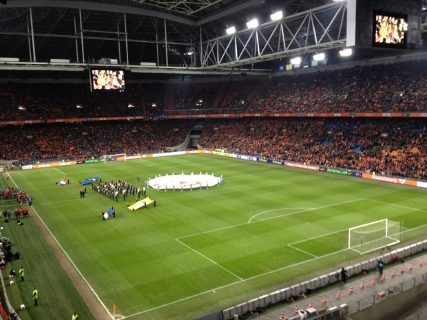 A view inside the stadium.
