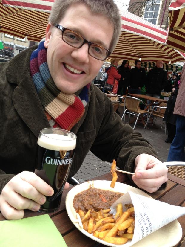 Irish stew & fries.