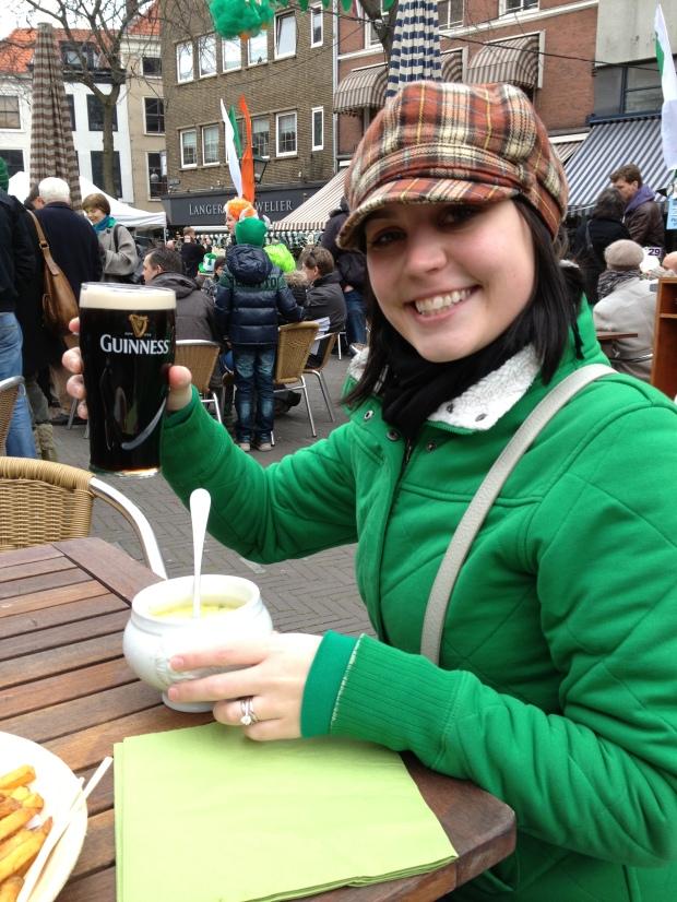 Potato soup & Guinness