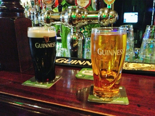 Magners & Guinness.
