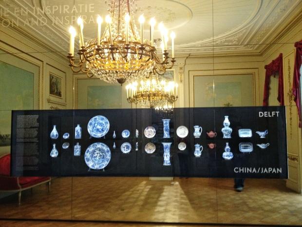 One room of the Delft Blauw exhibit.