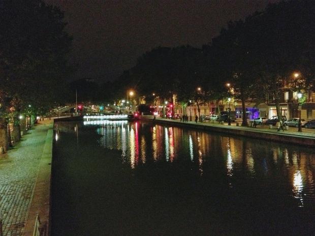The Canal Saint Martin.
