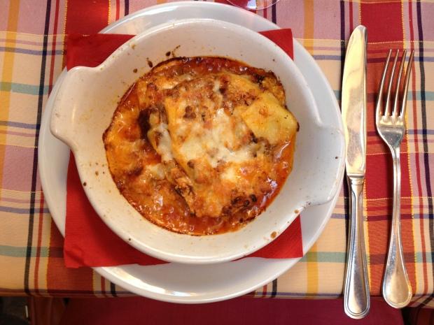 My 5 euro lasagna!