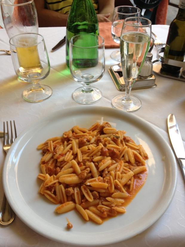 My delicious pasta.