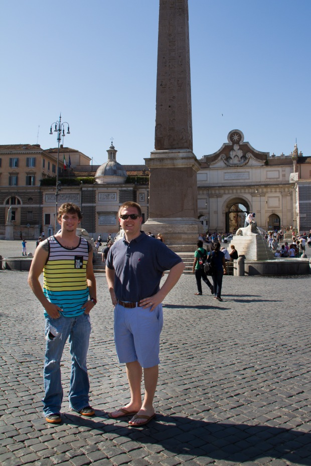 Piazza del Popolo & the Egyptian Obelisk.