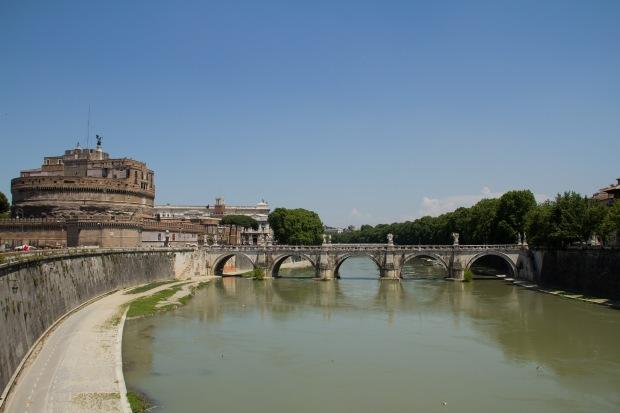 Tiber River & Castel Sant'Angelo