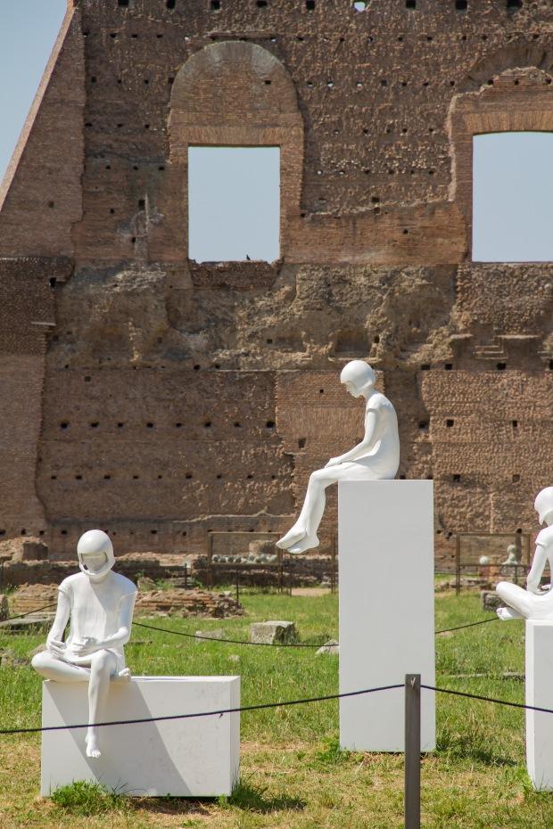 Palatine Hill Ruins & Art
