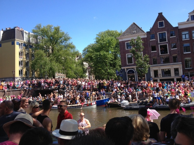 This was without any parade boats - so many people!