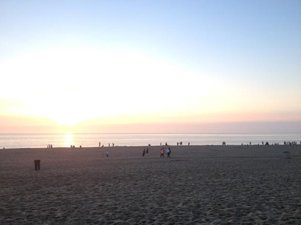 Pretty beach.