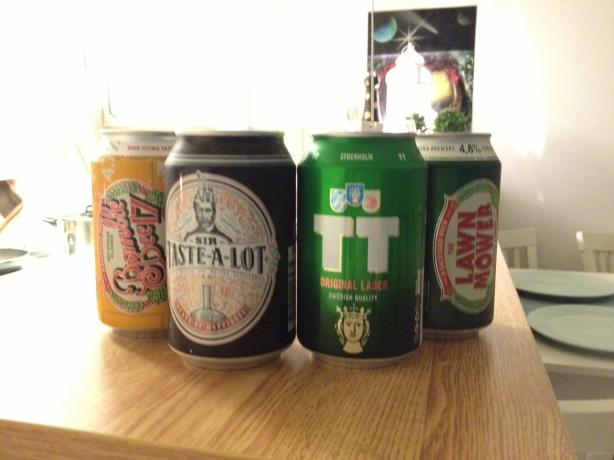 The brews - great names!