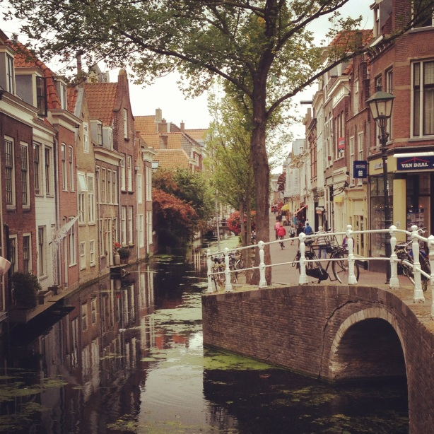 Delft canal.