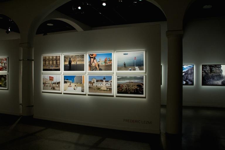 The photo exhibit.