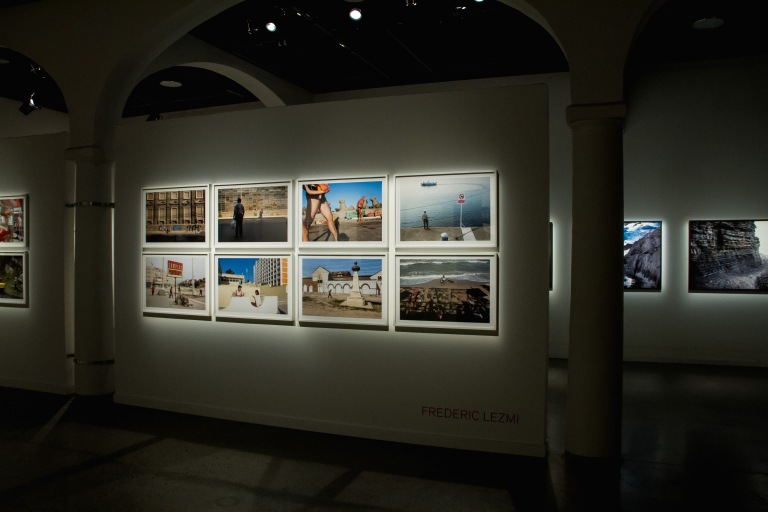 The photo exhibit.