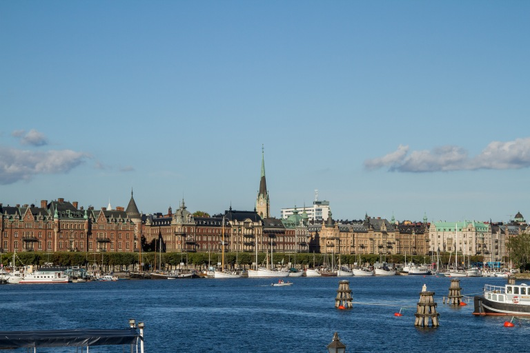Walked past this - the most expensive street in Stockholm - pretty outrageous!