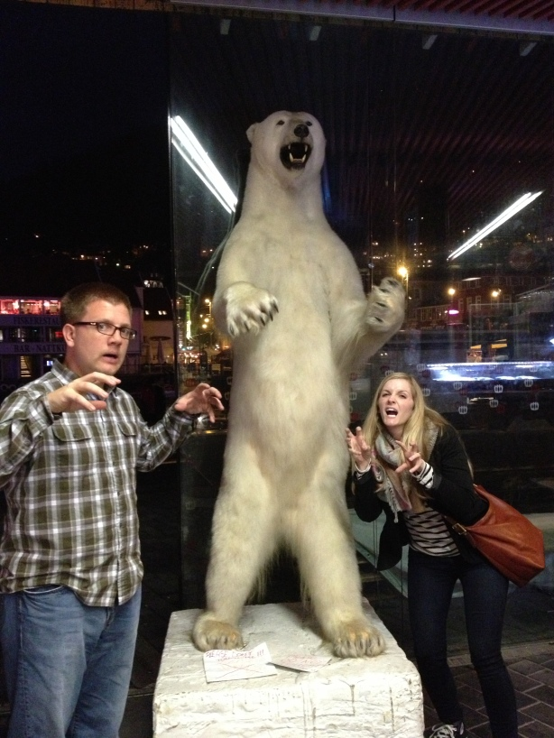 Best polar bear expression...ERIN!