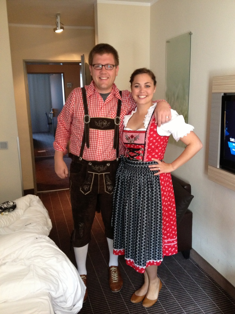 What a nice German couple.
