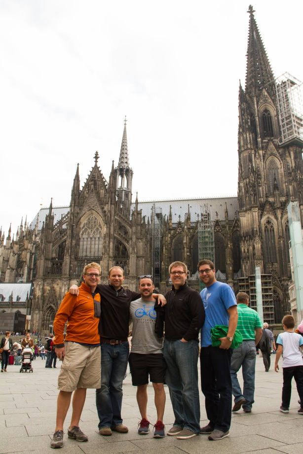 The boys in Cologne!