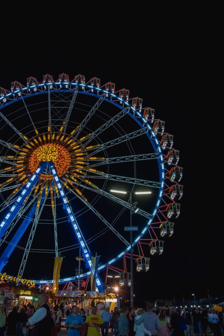 The ferris wheel - yes, please!