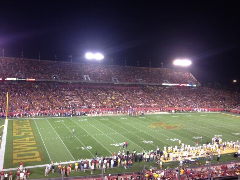 Jack Trice Stadium - sold out game!