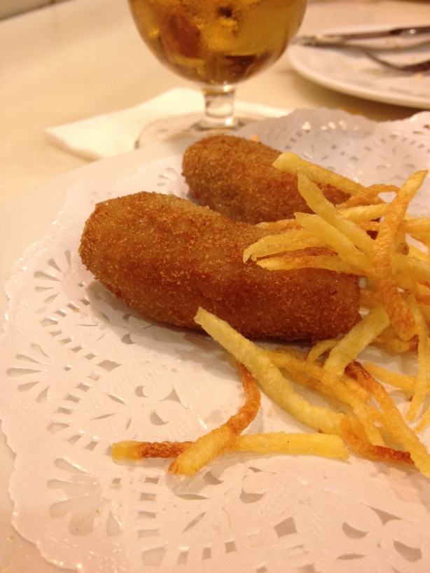 The croquettes.
