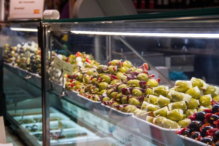 Loads of olives!