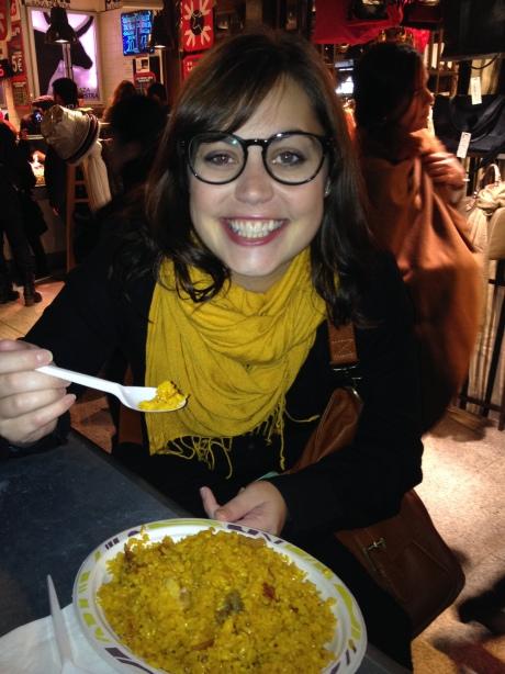 First paella!