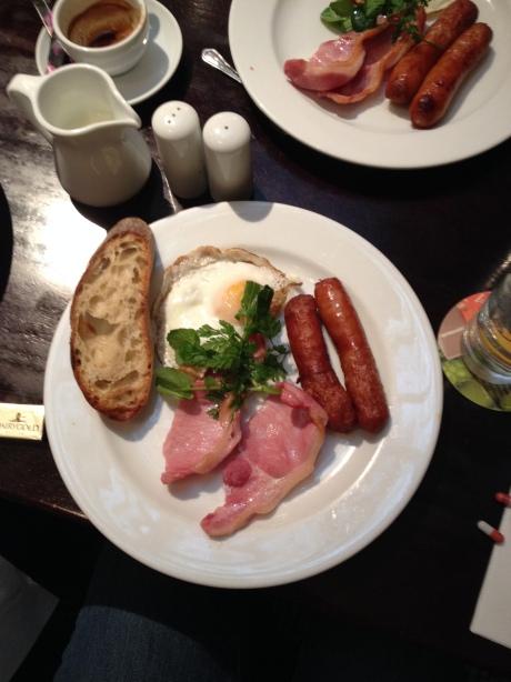 I like Irish breakfasts!