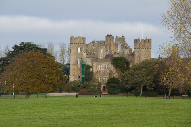 The castle from afar.