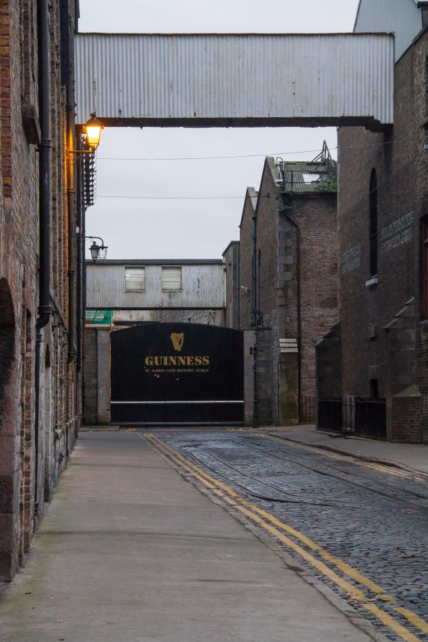 Approaching the brewery!