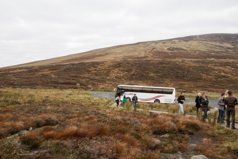 This was my bus and some fellow tourists, just an FYI.