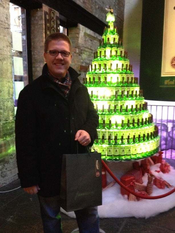 BC & his purchases with the Jameson tree.