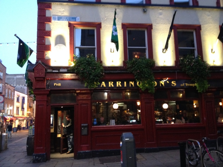 A quintessential Irish pub.
