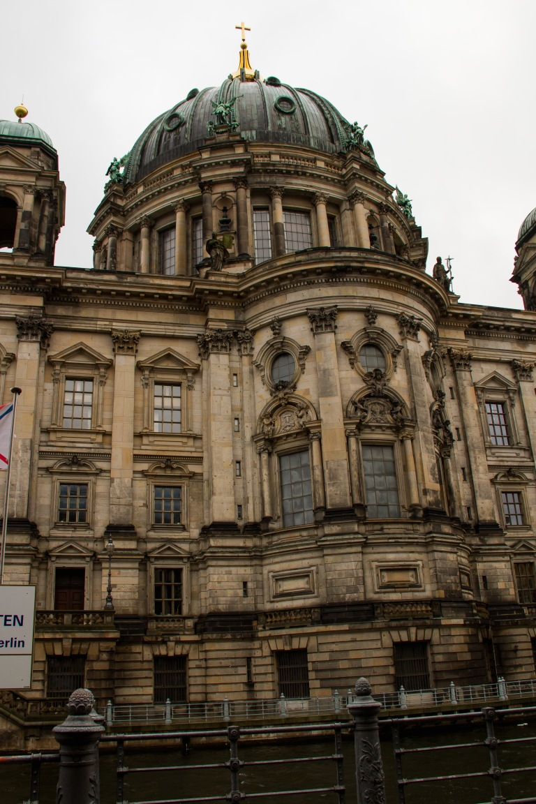 Berliner Dom - Berlin's main cathedral.  Heavily bombed in WWII, but rebuilt nicely, I think!