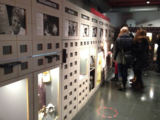 Inside the DDR Museum - tons of information about what life was like in East Berlin under DDR rule.