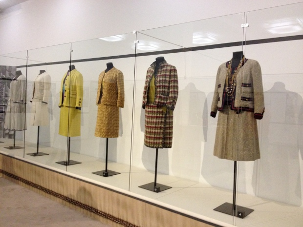 The Chanel Suit.  A really cool exhibit even for the fashionably challenged. :)