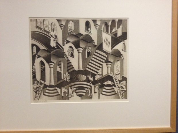 Another famous one by MC Escher.