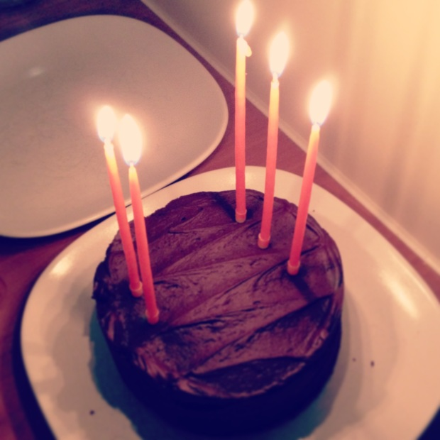 And a little chocolate cake never hurt anyone! :)