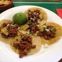 BC's carne pastor tacos.