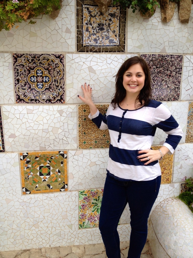 I was really into these mosaics/tiles.