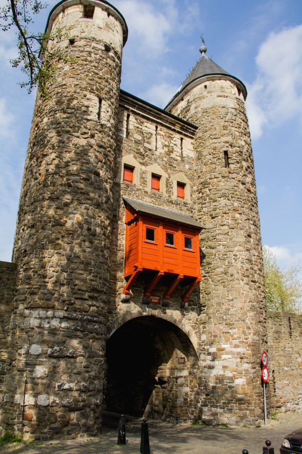 Hell's Gate - the oldest city gate in the NL.