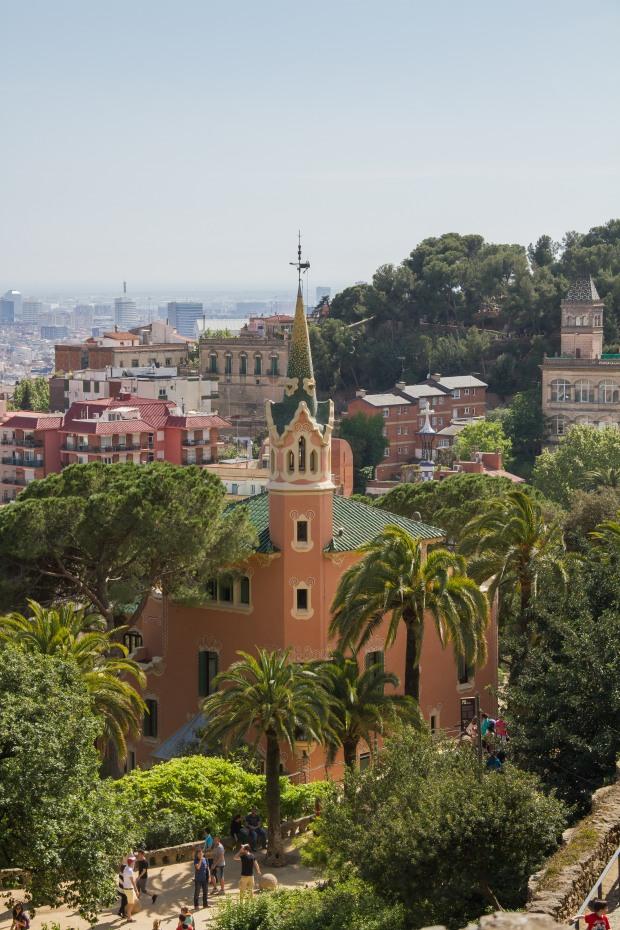 Where Gaudi lived.
