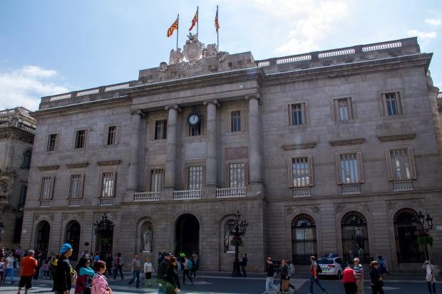 Barcelona town hall.