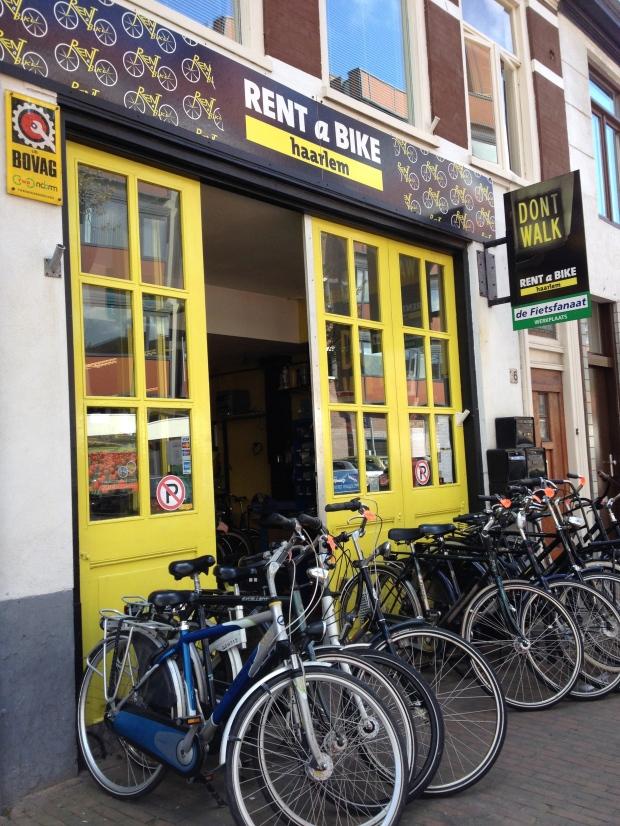 """""""Rent a Bike"""" - great name."""